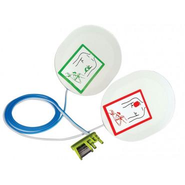 Placche adulti compatibili  Zoll Medical Corp - Aed Plus - AED Pro - AED 3 senza funzione RCP